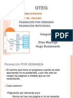 Paginacion Por Demanda y Anticipada
