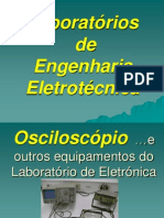 LEE 2013-14 - Osciloscopio e Outros Equipamentos