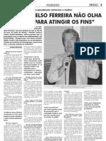 """Entrevista Artur Penedos """"PSD não olha a meios para atingir os fins"""" Novas 9-9-09"""