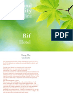 Rif Hotel Guideline