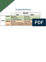 Comisiones Evaluadoras 2014 Primario