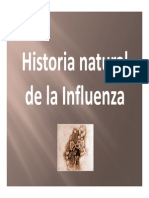 Historia Natural de La Influenza