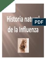 Historia Natural de La Influenza