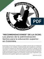 Educacion Superior y OECD Importada