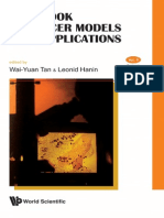 7160142 Handbook of Cancer Models With Applications WSP 2008
