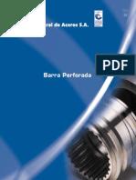 Barra Perforada