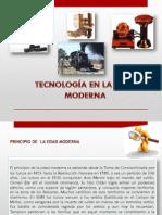 Tecnologia en La Edad Moderna