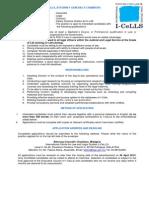 Vacancy Assoc I-cells 2013 (Legal) April 2013