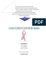 Caso Clinico Cancer de Mama Febrero