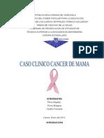 Caso Clinico Cancer de Mama Febrero