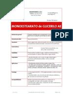 FT31143-00 - Monoestearato de Glicerilo AE