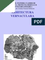 ARHITECTURA VERNACULARA