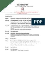 February 2014 JEDI Plenary Agenda