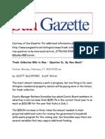 News About Arlington County, VirgianSun Gazzette Feb 17 2014