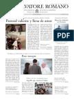 L´OSSERVATORE ROMANO - 21 Febrero 2014