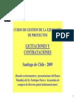 Licitaciones y Contrataciones