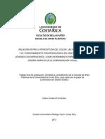 EL COLOR, LAS FORMAS Y  PSICOFISIOLOGIA EN LA COMUNICACIÓN VISUAL