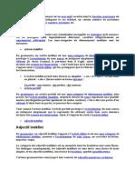 Determinants (1)