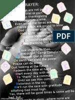 Prayer Alphabet