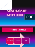 sindrome nefrotico pediatrico