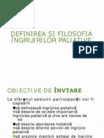 Ingrijiri paleative Curs 1