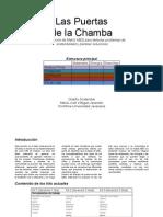 Matriz MED, análisis de sustentabilidad