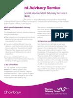 Independent Advisory Service