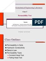 Permeability Test