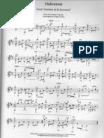 Dedicatoria - Guitar