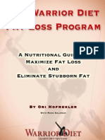 The Warrior Diet Fat Loss Plan