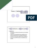 Tema 1 Definicion y Clases de Auditoria Solo Lectura