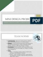 mini design project