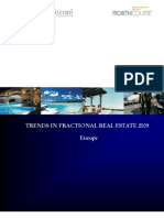 Trends in Fractional Real Estate Report, Europe 2009