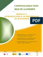 Módulo 1.Introrduccion a la enfermedad de Alzheimer