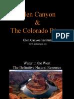 Glen Canyon Institute Roadshow presentation for KDNK
