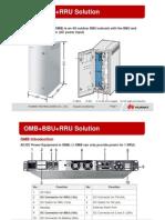 OMB Plus BBU Plus RRU Solution (for VFD2) (54634 v1.0) 20120508