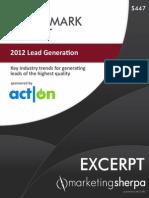 Lead Generation Benchmark Report - EXCERPT