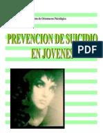 Prevencion de Suicidio en Adolescentes - Departamento de Ori