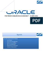 Oracle R12 AR Receivables Enhancement - Overview
