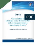 Literacidad II Estrategias Para El Desarrollo Eficaz de La Comprension Lectora y Produccion de Textos