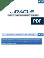 Oracle R12 CE Cash Management New Features