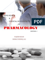 Pharmacolgy Study Notes