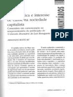 Armando Boito JR. - Cena Política e Interesse de Classe na Sociedade Capitalista