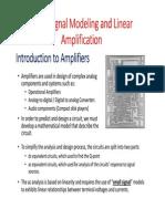 Chapter 13 Linear Amplifiers BJT-1-1