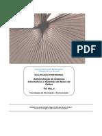 TIC002administração de sistemas informaticos e sistemas de bases de dados
