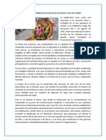 RESEÑA HISTÓRICA DE LA FIESTA DE LA FRUTA Y DE LAS FLORES