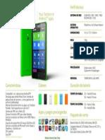 Especificaciones Nokia XL