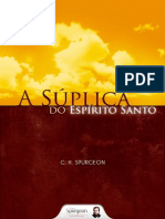C. H. Spurgeon - A Súplica do Espírito Santo