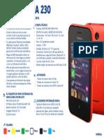 Nokia Asha 230 - Ficha Técnica