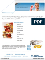Fish Oil Services & Support